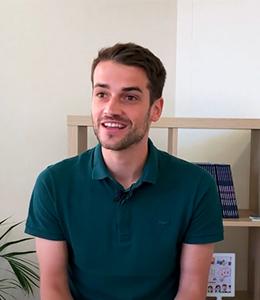 Léo, chef de projet webmarketing